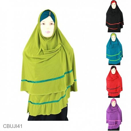 Jilbab Syar'i Set Ciput Pita Arista