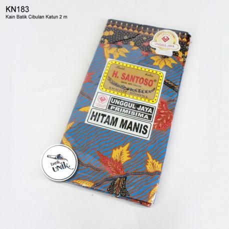 Kain Batik Cibulan Motif Bunga 7
