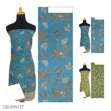 Kain Batik Printing Motif Kotemporer Alas Tumpal