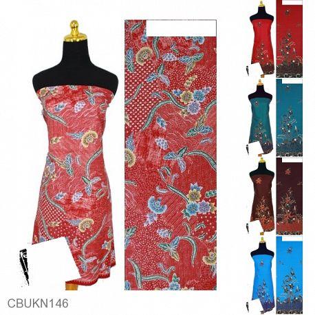 Kain Batik Printing Motif Kembang Gunung
