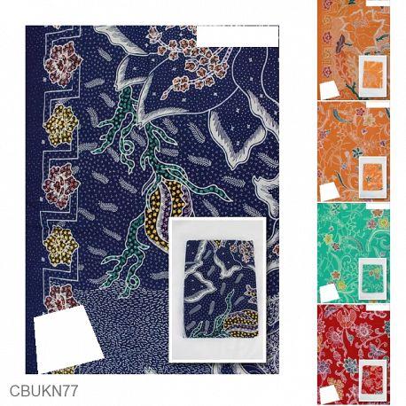 Kain Batik Semi Tulis Colet Motif Cagar Alam II
