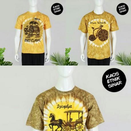 Kaos Batik Malioboro