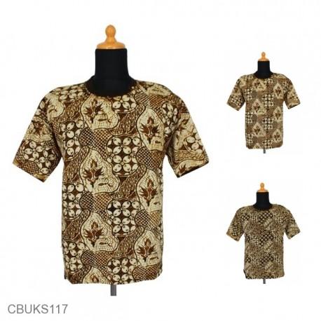 Kaos Batik Motif Sogan Mataraman
