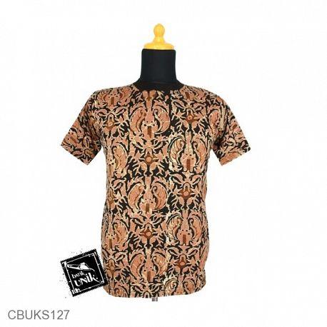 Kaos Batik Motif Kotemporer