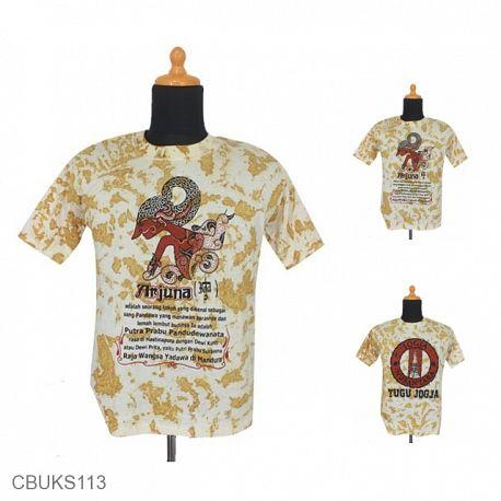 Kaos Batik Pekalongan Motif Khas Jogja Dua