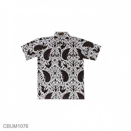 Kemeja Batik ABG Motif Sayap Garuda
