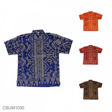 Kemeja Batik Anak Motif Kalimantan (4-5Th)