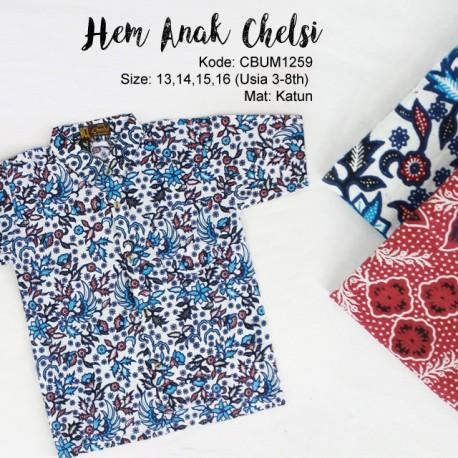 Kemeja Batik Anak Chelsi