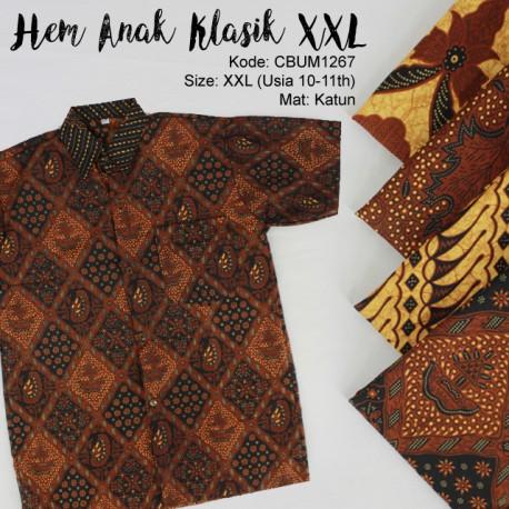 Kemeja Batik Anak Klasik LLL