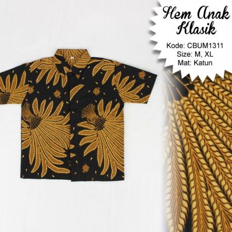 Kemeja Batik Anak Klasik Cemeng