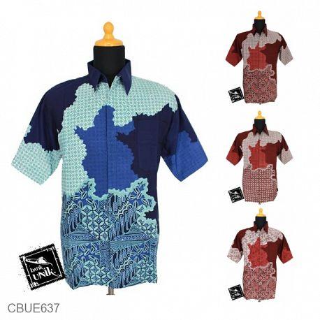Kemeja Batik Baim Motif Mentari