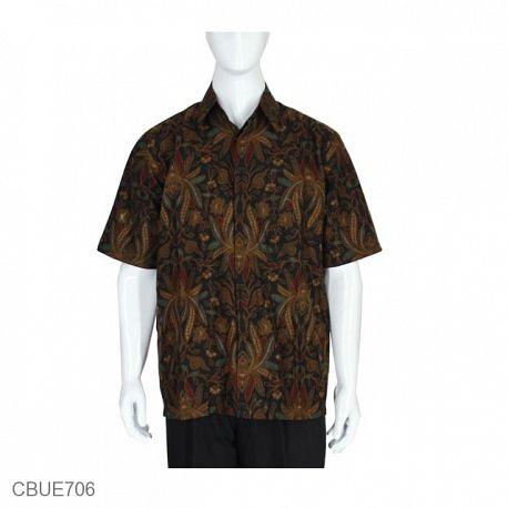 Kemeja Batik Baturaden Motif Pisang Lasem