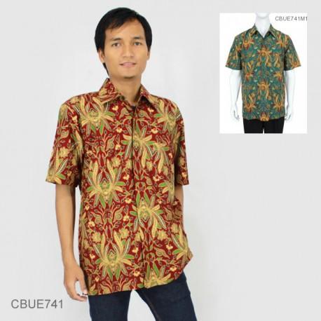 Kemeja Batik Baturaden Katun Primis Motif Jokowi Warna