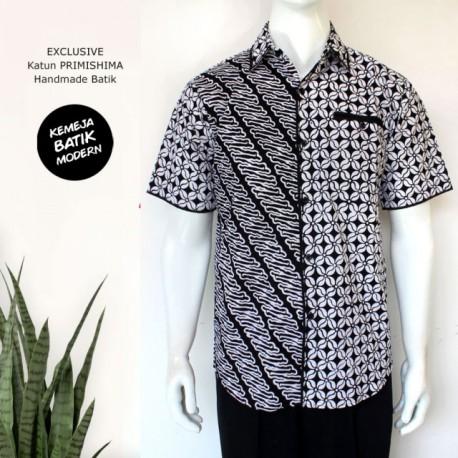 Kemeja Batik Cap Seling Katun Primis Ayodia