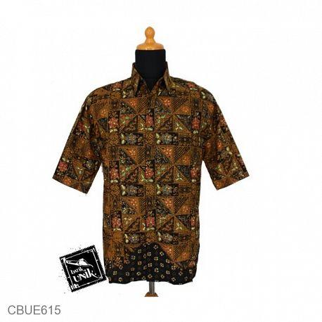 Kemeja Batik Dhani Colet Sogan
