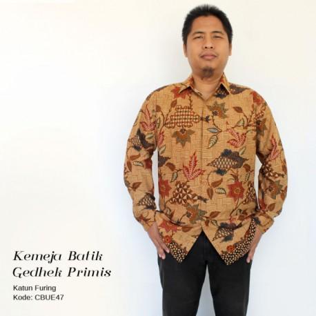 Kemeja Batik Gedheg Primis