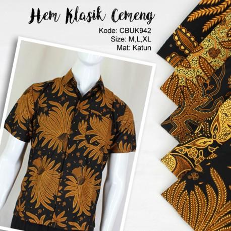 Kemeja Batik Katun Motif Klasik
