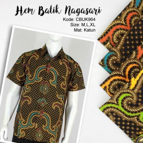 Kemeja Batik Katun Motif Nagasari