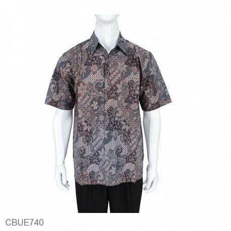 Kemeja Batik Madura Motif Sekar Jagad Klasik
