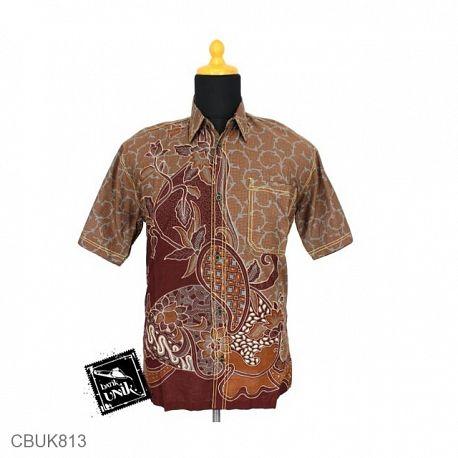 Kemeja Batik Motif Pelel Isi