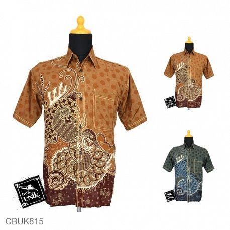 Kemeja Batik Motif Buble Kipas