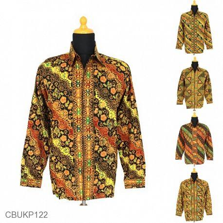 Kemeja Batik Motif Sarpa Tumpal