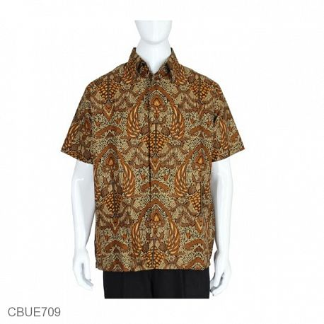 Kemeja Batik Baturaden Motif Sidomulyo Coksu