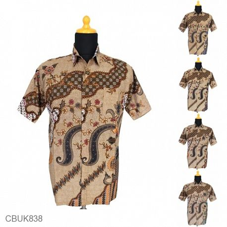 Kemeja Batik Motif Jagad Isi