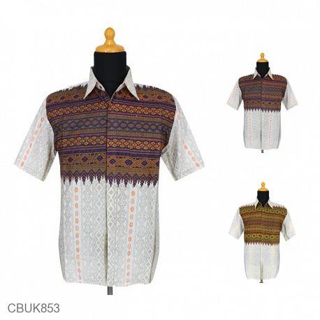 Kemeja Batik Motif Songket Anjani