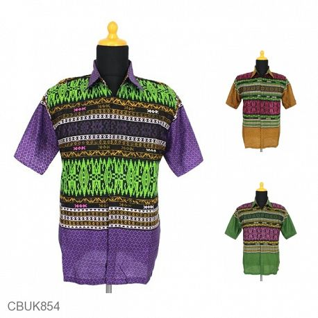 Kemeja Batik Motif Songket Manik