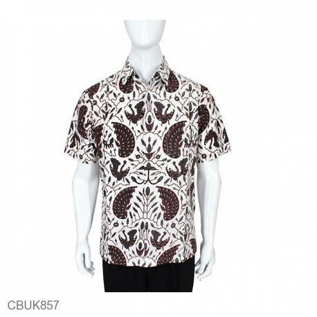 Kemeja Batik Motif Sayap Garuda XXL
