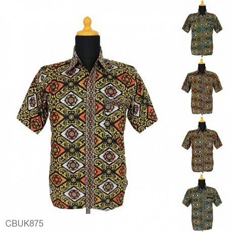 Kemeja Batik Motif Bali
