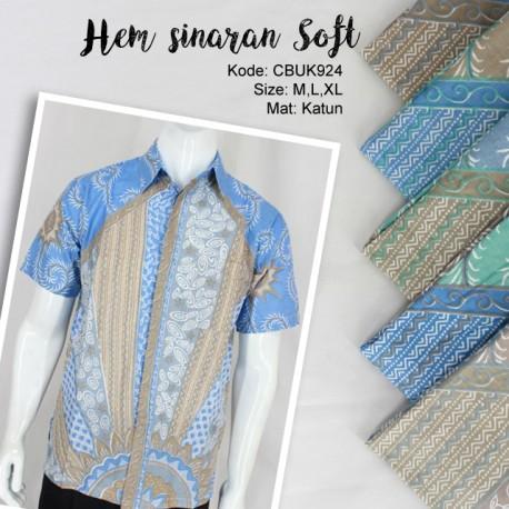 Kemeja Batik Motif Sinaran