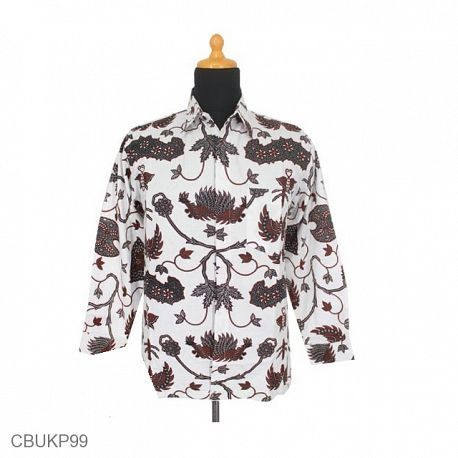 Kemeja Batik Panjang Motif Wahyu Tumurun