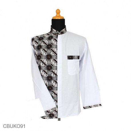 Kemeja Batik Panjang Motif Parang Klasik