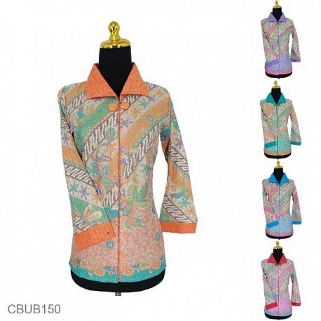Kemeja Batik Panjang Katun Motif Parang