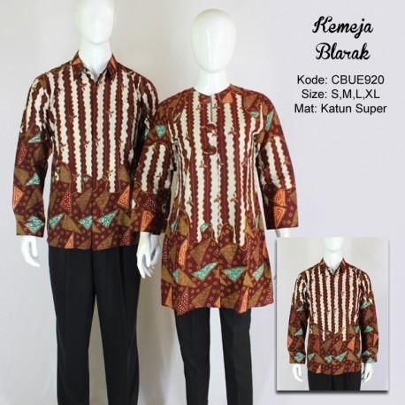 Kemeja Batik Panjang Blarak 9137