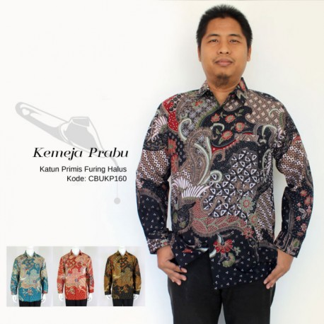 Kemeja Batik Panjang Furing Halus Primis Klasik