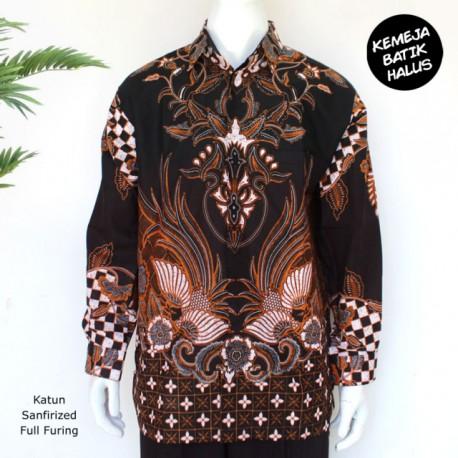 Kemeja Batik Panjang Furing Halus Sragenan Peksi Dewa