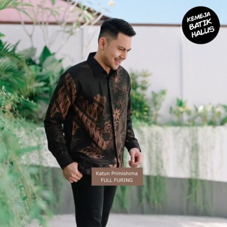 Kemeja Batik Panjang Furing Halus Peksi Seling