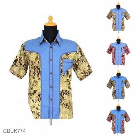 Kemeja Batik Pekalongan Motif Alas Wadas