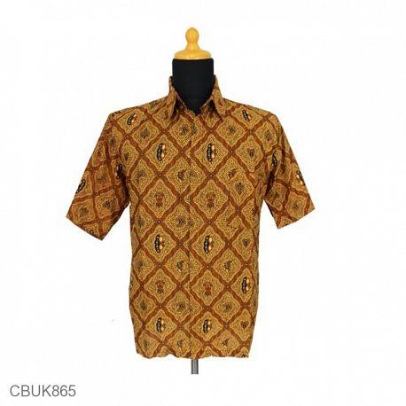 Kemeja Batik Pendek Purbonegoro