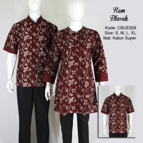 Kemeja Batik Pendek Blarak 9140