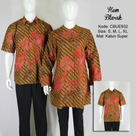 Kemeja Batik Pendek Blarak 9134