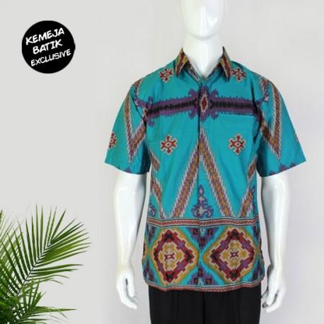 Kemeja Batik Pendek Blarak 9131