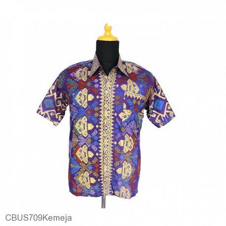 Kemeja Batik Sarimbit Family Motif Songket
