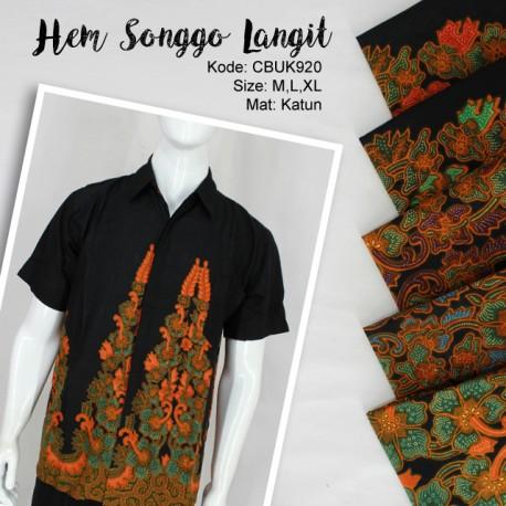 Kemeja Batik Songgo Langit