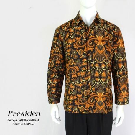 Kemeja Panjang Batik Motif Pisang Bali