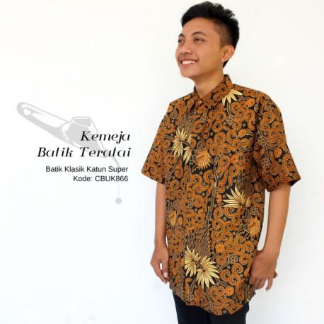 Kemeja Pendek Batik Jogjaan Melati