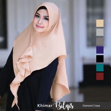 Khimar Bilqis Diamond Crepe